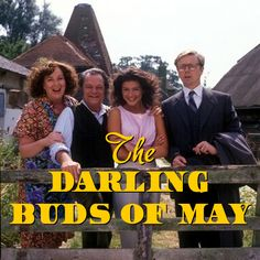 'The Darling Buds of May' Comedy/drama TV series based on the… Best Television Series, Television Program, David Jason, Darling Buds Of May, Top Tv Shows, Drama Tv Series, Vintage Television, Uk Tv, British Comedy