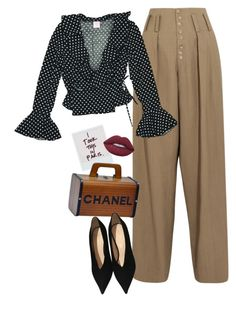 """praying on my downfall"" by chanelandcoke ❤ liked on Polyvore featuring Joseph, Chanel and Lime Crime"
