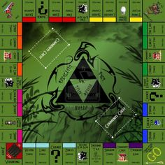 Monopoly de Zelda | La Guarida Geek