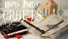 ⚯͛△⃒⃘ HARRY POTTER DIYs & CRAFTS △⃒⃘⚯͛  I hope you make some of these Harry Potter DIYs including The Monster Book, a wand, Bertie Bott's Every Flavour Bean Boxes, The Marauder's Map and the Hogwarts Acceptance Letter!!  #HarryPotter #DIY #Crafts