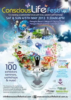 Conscious life Festival 2013  www.consciouslifefestival.com.au