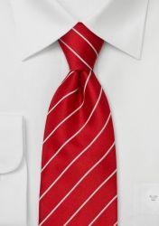 Business-Krawatte leuchtendes Rot günstig kaufen