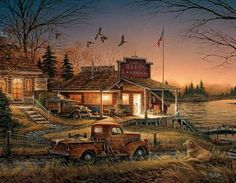 Total Comfort Duck Hunting White Mountain 1000 Piece Jigsaw Puzzle by Artist Terry Redlin, $16.00