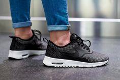 Nike Air Max Thea Jacquared: Black