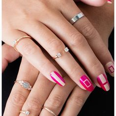 Pictures On Nail Art Design - Pictures On Nail Art Design , Standout Stiletto Nail Art You'll Want to Try Easy Nails, Easy Nail Art, Cool Nail Art, Simple Nails, Nice Nails, Popular Nail Designs, Simple Nail Art Designs, Beautiful Nail Designs, Nail Art Photos