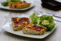 Tartelettes aux saveurs italiennes, poulet, pesto, mascarpone... Saveur, Salmon Burgers, Baked Potato, Pizza, Snacks, Chicken, Baking, Quiches, Ethnic Recipes