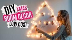 DIY decoración de Navidad LOW COST   XMAS ROOM DECOR