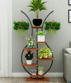 Home Discover Floral flower shelf balcony shelf living room simple decorative vase flower shelf indoor balcony flower pot rack Diy Home Crafts, Diy Home Decor, Indoor Balcony, Balcony Flowers, House Plants Decor, Flower Stands, Plant Shelves, Vases Decor, Home Decor Furniture