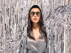They better watch out. Bring a fierce new look to town with stand-out shades from Valentino. Women's Sunglasses, Sunnies, Sunglass Hut, Dope Fashion, Red Lipsticks, Cool Watches, Oakley, New Look, Valentino