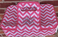 Monogrammed Casserole Carrier by CelebratedDesigns on Etsy