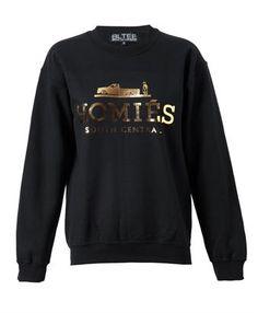 BRIAN LICHTENBERG - Unisex: 'Homies' Cotton Sweatshirt
