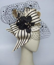 Fashion hat Light Finger, designed by Melbourne milliner Louise Macdonald