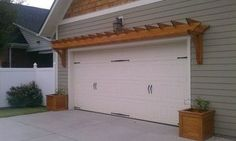 Garage Pergola Design Ideas, Pictures, Remodel, and Decor - page 15