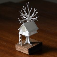 From an artist's mind springs a paper town | MNN - Mother Nature Network