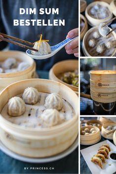 Feinste Premium Dim Sum online bestellen und zu Hause selber zubereiten. Von Xiao Long Bao bis Tips und Buns. Dim Sum, Die Macher, Peanut Butter, Snacks, Breakfast, Fine Dining, Chinese Recipes, Finger Food, Simple