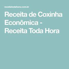 Receita de Coxinha Econômica - Receita Toda Hora