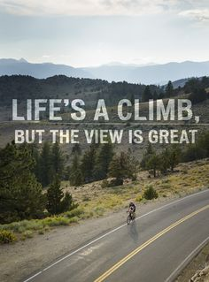 See you at the top of your life goal! #quotes #cyclingquotes