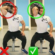 Have exercise misconceptions prevented you from starting an exercise program? Clear up any confusion and let these exercise tips improve your workout routine Fitness Workouts, Gym Workout Tips, Fitness Motivation, Biceps Workout, Sport Fitness, Muscle Fitness, Fitness Tips, Fitness Outfits, Fitness Planner