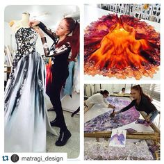 #Repost @matragi_design with @repostapp. ・・・ Blanka Matragi preparing the newest collection for Gala Fashion Show Elements 11.11.2016 in Prague.Information and tickets sale here : www.matragi-elements.cz. #dress #longdress #fashion #topfashion #fashionshow #model #models #topmodel #lovethisdress #elements #lebanon #beirut #czech #czechrepublic #couture #hautecouture #handmade #handpainted #instagram #instagood #instapic #art #instagood #instalike #colorsplash #me #blanka_matragi_designer…