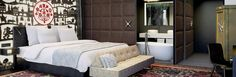 Kameha Grand Zürich, #Zurich #Switzerland - Deluxe Room #luxurytravel @kamehahr Convention Centre, Switzerland, Warm, Interior Design, Architecture, Bed, Amazing, Furniture, Home Decor