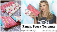 Pencil Pouch tutorial