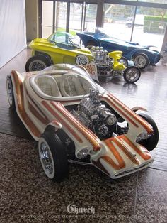 Ed Roth: Beatnik Bandit, Mysterion e Orbitron - Motocicleta Hot Wheels Cars, Hot Cars, Rat Rods, Classic Hot Rod, Classic Cars, Classic Motors, Weird Cars, Crazy Cars, Unique Cars