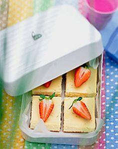Cheesecake - Leckeres fürs Picknick im Freien - [LIVING AT HOME]