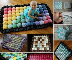 Adorable bubble quilt
