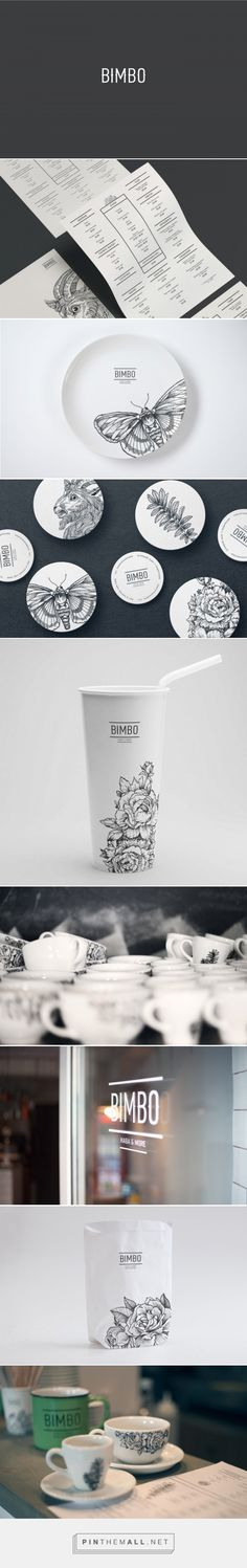 Bimbo Coffee Bar Branding by Grits + Grids