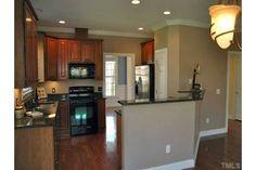Open kitchen floor plan- great for hosting parties!