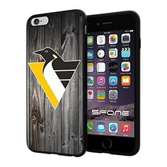 Pittsburgh Penguins 3 Black Wood NHL Logo WADE4773 iPhone 6+ 5.5 inch Case Protection Black Rubber Cover Protector WADE CASE http://www.amazon.com/dp/B013NX1HES/ref=cm_sw_r_pi_dp_kKACwb15C9HK0