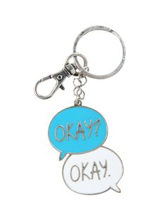 The Fault In Our Stars Okay Key Chain | Hot Topic