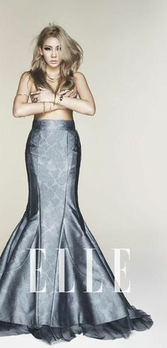 2NE1's fiesty leader CL for ELLE.