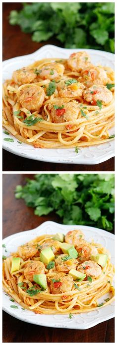 Caribbean Shrimp Pasta