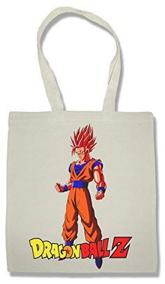Dragon Ball Z Goku Bolsa De La Compra Para Comestibles   Shopping Bag For Groceries #camiseta #starwars #marvel #gift