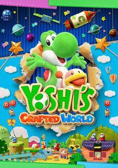 Yoshi's Crafted World for Nintendo Switch – Nintendo Game Details Yoshi, Mario Kart, Wii U, Xbox 360, Such Und Find, Online Magazine, Nintendo News, World Crafts, Nintendo Switch Games