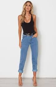 Image result for jeans and heels