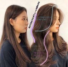 Haircuts Straight Hair, Hairstyles With Bangs, Korean Hairstyles Women, Modern Hairstyles, Women Haircuts Long, Redhead Hairstyles, Oval Face Haircuts, Japanese Hairstyles, Gothic Hairstyles