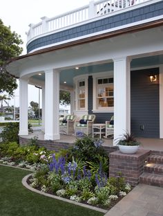 show house costal Living coronado | Coastal Living Showhouse Front Porch