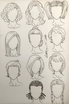 Female Hairstyles Dr Kappil Kishor In 2019 Hair Sketch Croquis - hairstyles drawing fashion messy hairstyles drawing wavy hairstyles drawing fringe hairstyles drawing tomboy hairstyles drawing pigtail hairstyles drawing Fringe Hairstyles, Female Hairstyles, Tomboy Hairstyles, Pigtail Hairstyles, Drawing Hairstyles, How To Draw Hairstyles, Art Drawings Sketches Simple, Pencil Art Drawings, Pencil Sketching