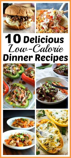 10 Delicious Low-Calorie Dinner Recipes- Just because a dish is healthy doesn't mean it has to be bland. Be healthy, but enjoy your meal with these delicious low-calorie dinner recipes! | healthy recipe, healthy food, lower calorie recipe, skinny meal, slim meal, eat healthy