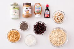 Use these ingredients to make Coconut Almond Chia Granola.