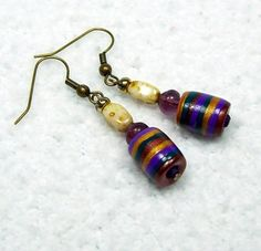 polymer clay beads | Earrings with Handcrafted Polymer Clay Beads | BarbiesBest - Jewelry ...