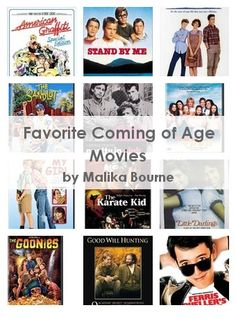 Favorite Coming of Age Movies
