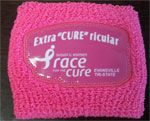 "Extra""CURE""ricular - New Race registration category this year! If you have a sporting event, band competition or something going on during the Race, you can still sign up and get this neat pink sweat band!"