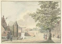 De Waardpoort te Utrecht, mogelijk Hermanus Petrus Schouten, 1757 - 1822