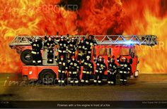 Photographer of the Month June 2012: Artur Cupak (RM 2219343). Fire men with a fire engine in front of a fire