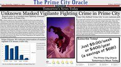 Hero arrives on the scene in Prime City back in 1990