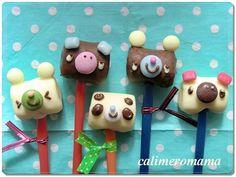 Marshmallow Animals