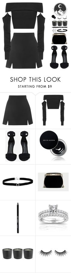 """Untitled #546"" by cherryprincessannie ❤ liked on Polyvore featuring Topshop, McQ by Alexander McQueen, Jeffrey Campbell, Kevyn Aucoin, BillyTheTree, Urban Decay, Annello, Huda Beauty and BOBBY"